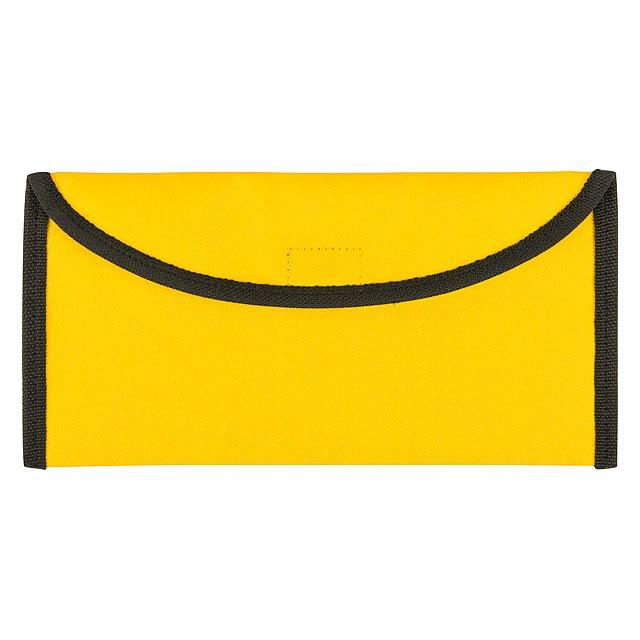 Lisboa taška na dokumenty - žlutá