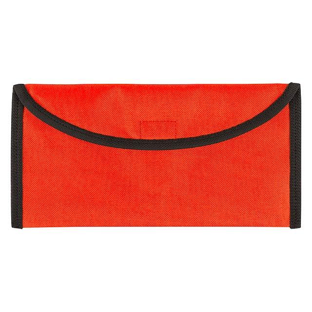 Lisboa taška na dokumenty - oranžová