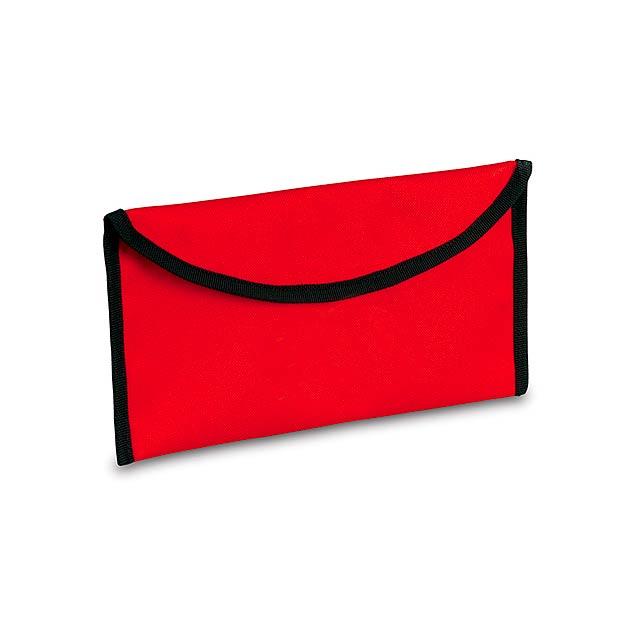 Lisboa taška na dokumenty - červená