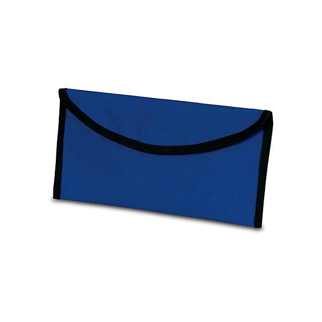 Lisboa taška na dokumenty - modrá