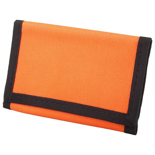 Film peněženka - oranžová