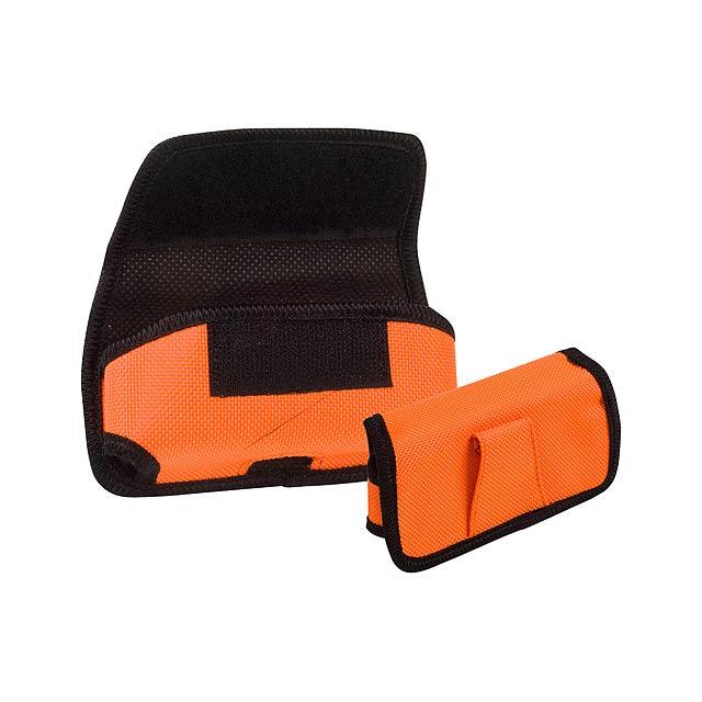 Nila pouzdro na mobilní telefon - oranžová