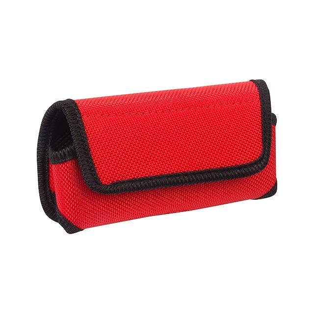 Nila pouzdro na mobilní telefon - červená