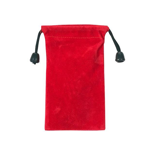 Mirka pouzdro na mobilní telefon - červená