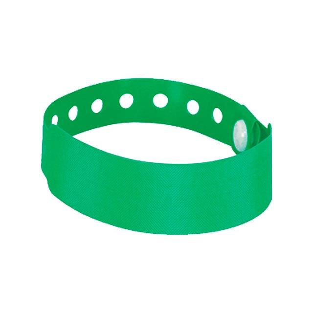 Multivent identifikační páska na ruku - zelená