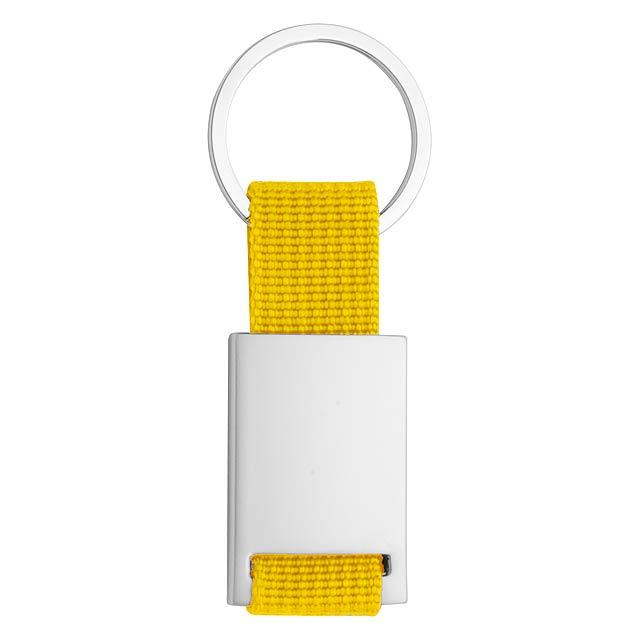 Yip přívěšek na klíče - žlutá