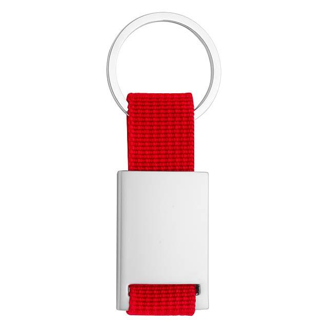 Yip přívěšek na klíče - červená