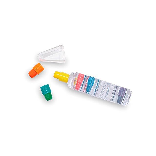 Miney voskovky - multicolor