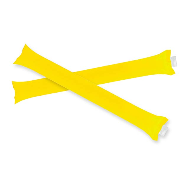 Cheering sticks - yellow