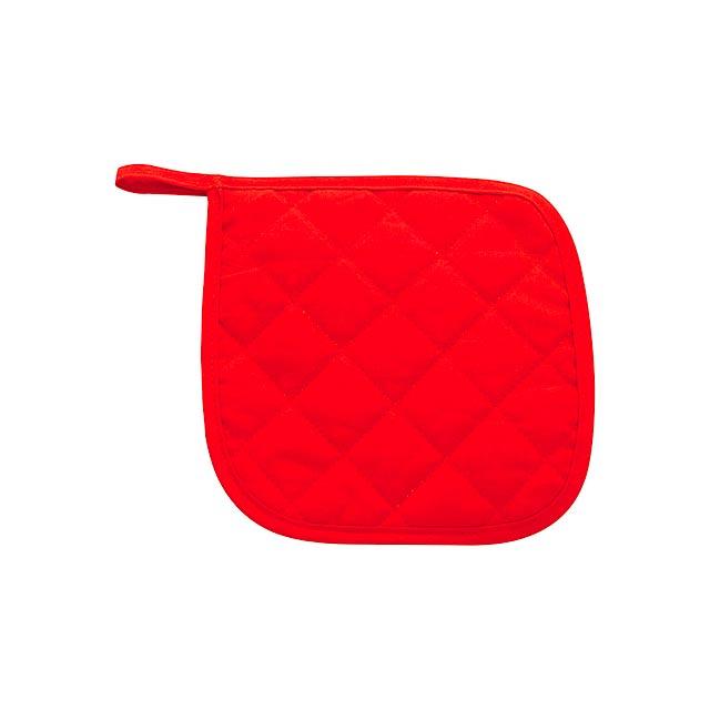 Pot podložka pod hrnce - červená