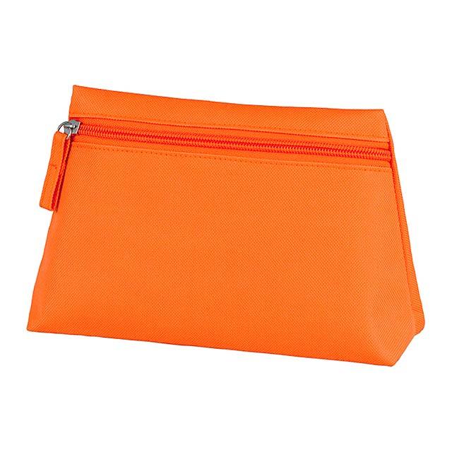 Britney kosmetická taška - oranžová