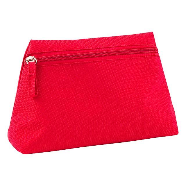Britney kosmetická taška - červená