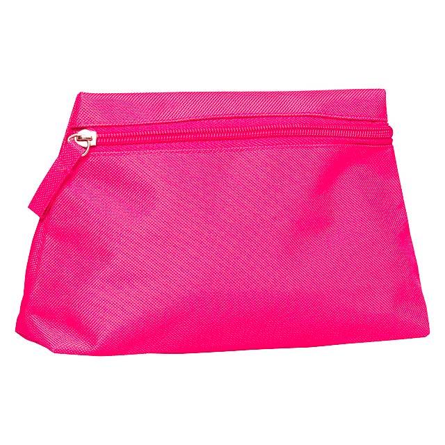 Britney kosmetická taška - fuchsiová (tm. růžová)