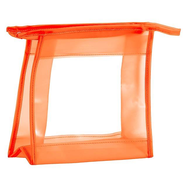Aquarium kosmetická taška - oranžová