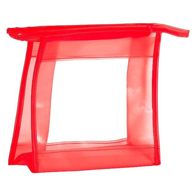Aquarium kosmetická taška - červená