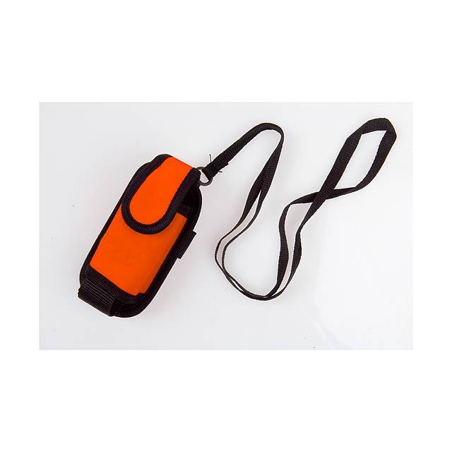 Misu pouzdro na mobilní telefon - oranžová