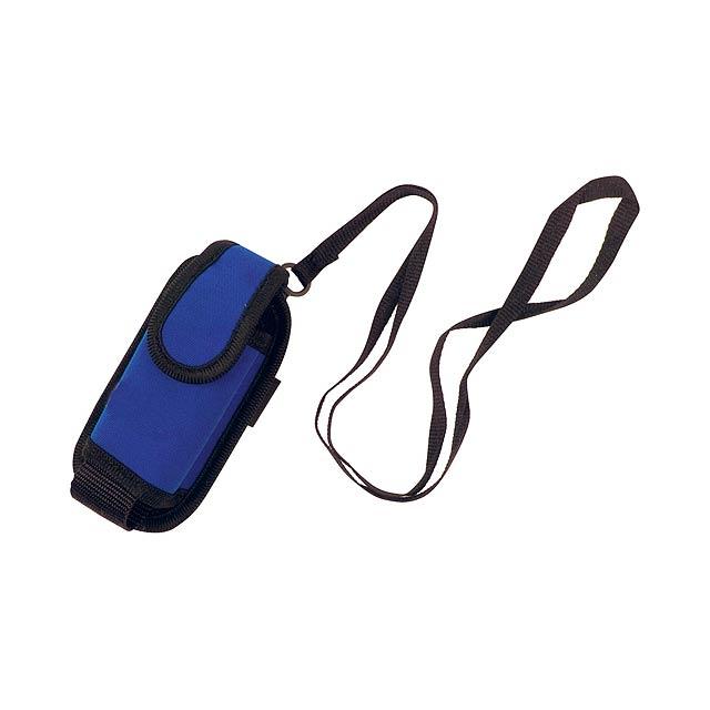 Misu pouzdro na mobilní telefon - modrá
