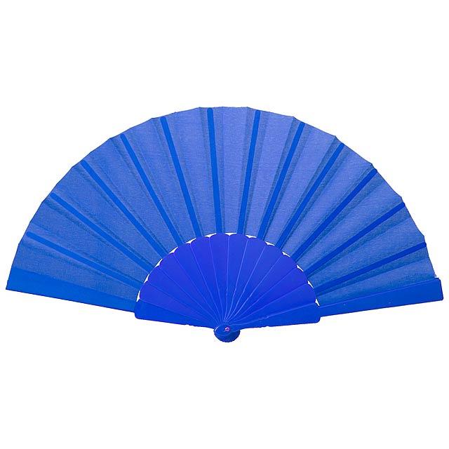 Tela vějíř - modrá