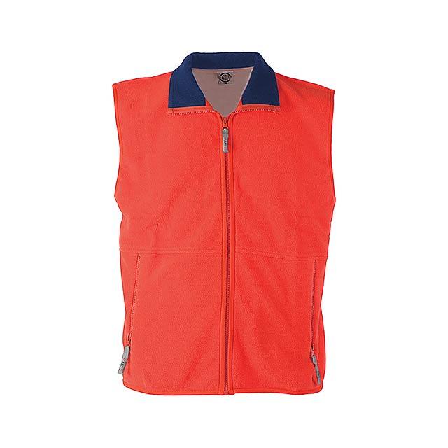 Forest vesta fleece - 260 g - červená