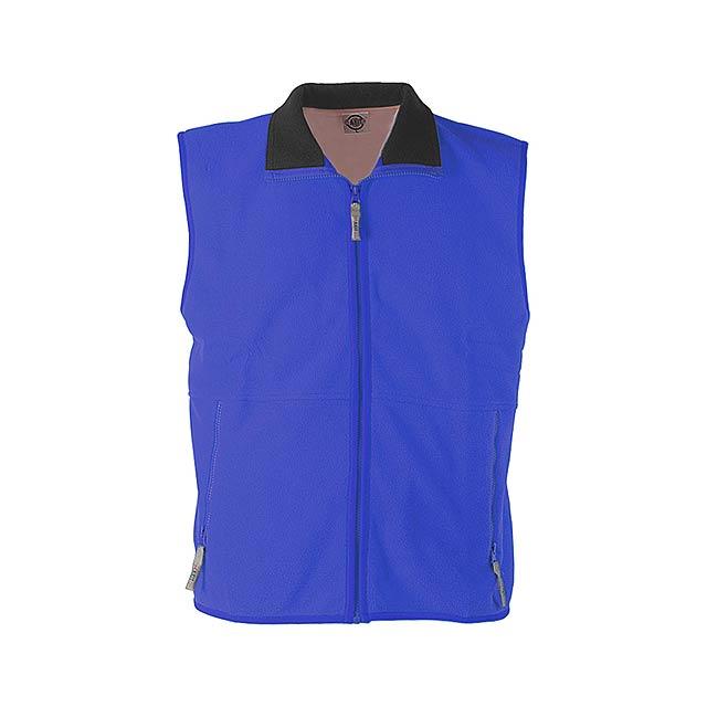 Forest vesta fleece - 260 g - modrá