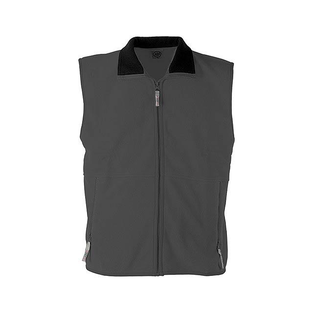 Forest vesta fleece - 260 g - šedá