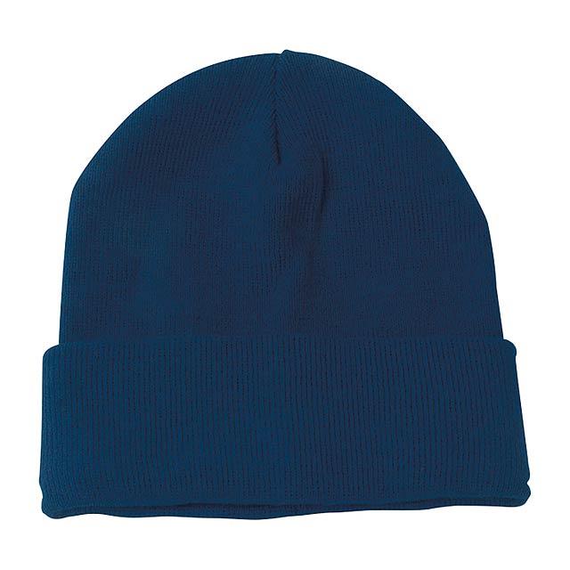 Lana zimní čepice - modrá