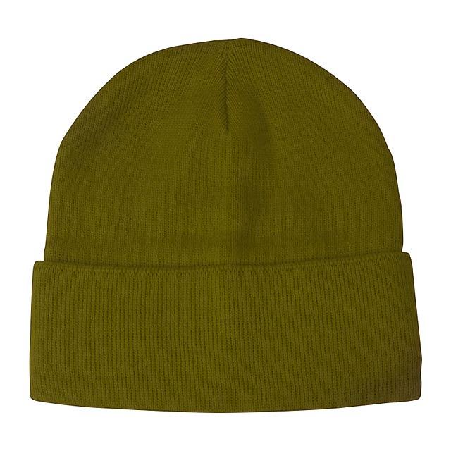 Lana zimní čepice - zelená