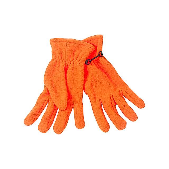Monti zimní rukavice - oranžová
