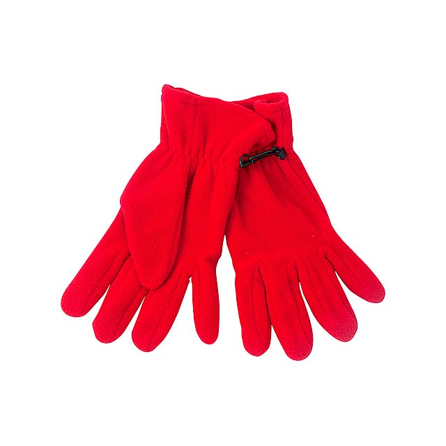 Monti zimní rukavice - červená