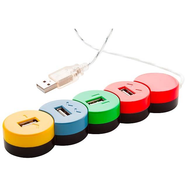 Proc USB hub - multicolor