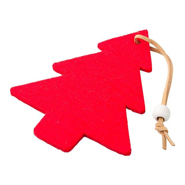 Fantasy vánoční figurka, stromeček - multicolor