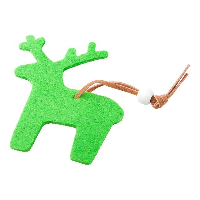 Fantasy vánoční figurka, sob - multicolor