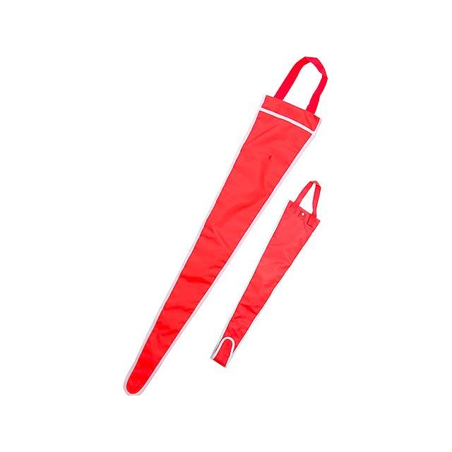 Backsite obal na deštník - červená
