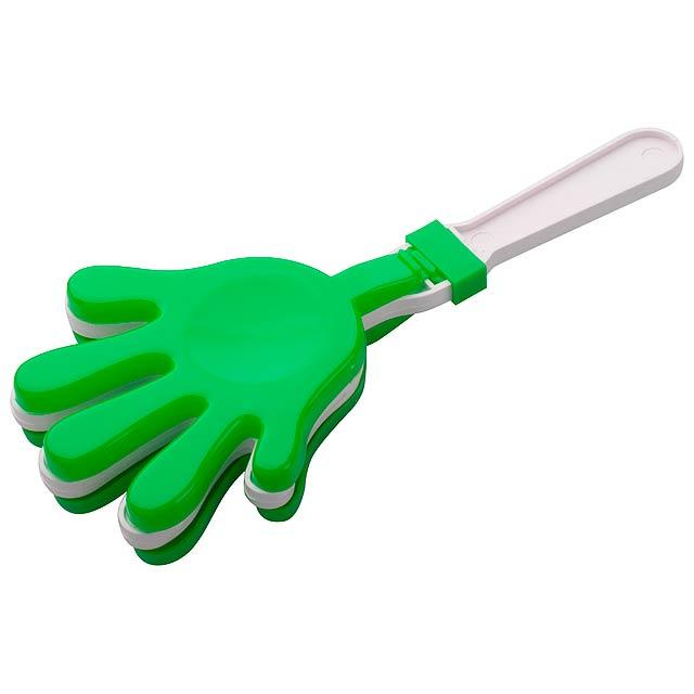 Maracaná fandící klapačky - zelená