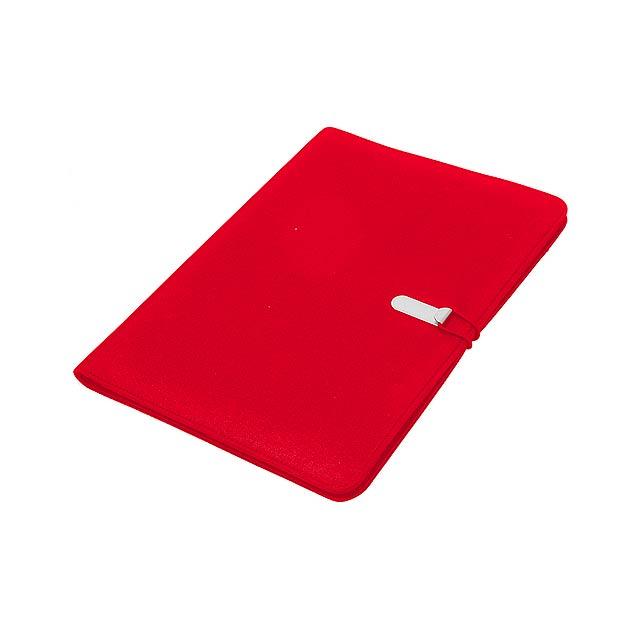 Neco sloha na dokumenty - červená