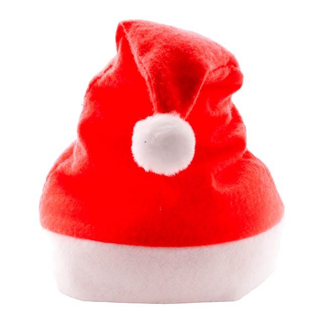 Papa Noel Santa Klausovská čepice - červená