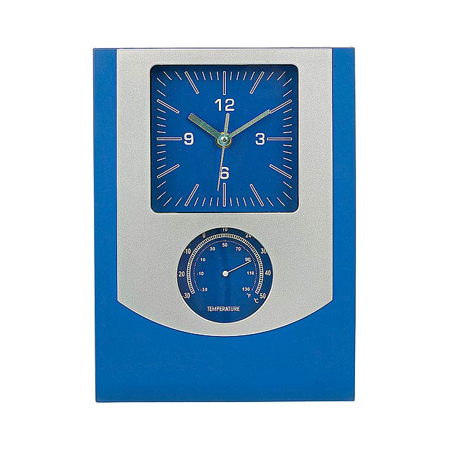 Technis nástěnné hodiny - modrá