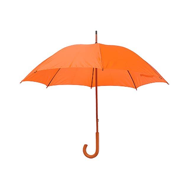 Santy deštník - oranžová
