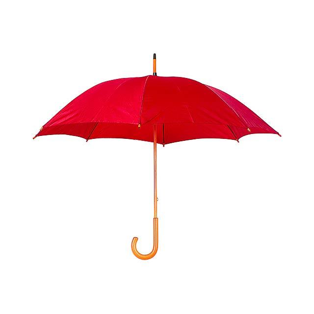 Santy deštník - červená