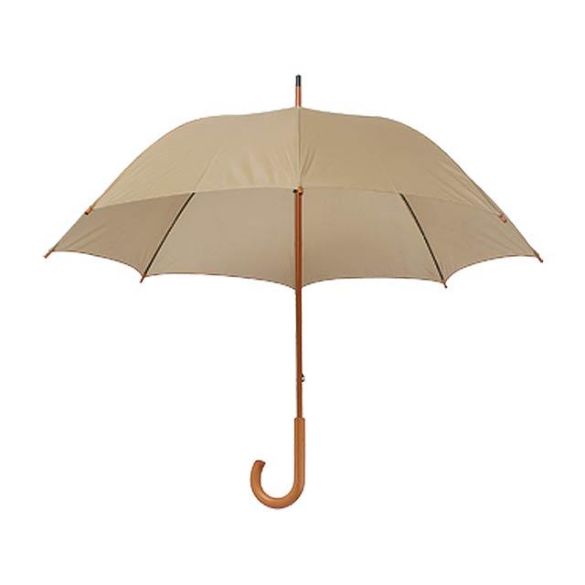 Santy deštník - hnědá
