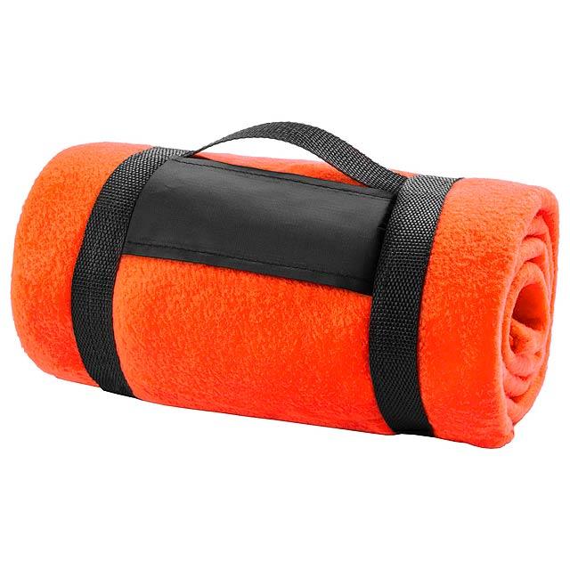 Mountain deka - oranžová