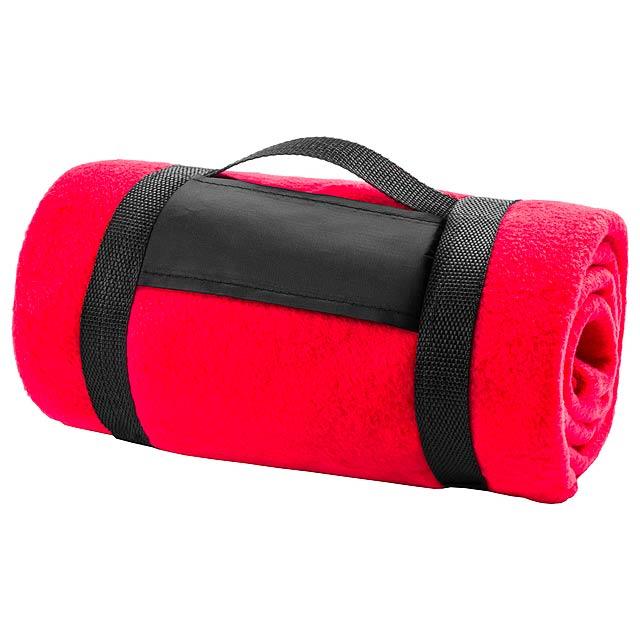 Mountain deka - červená