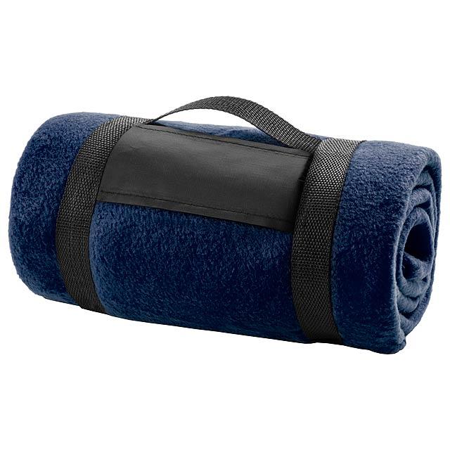 Mountain deka - modrá