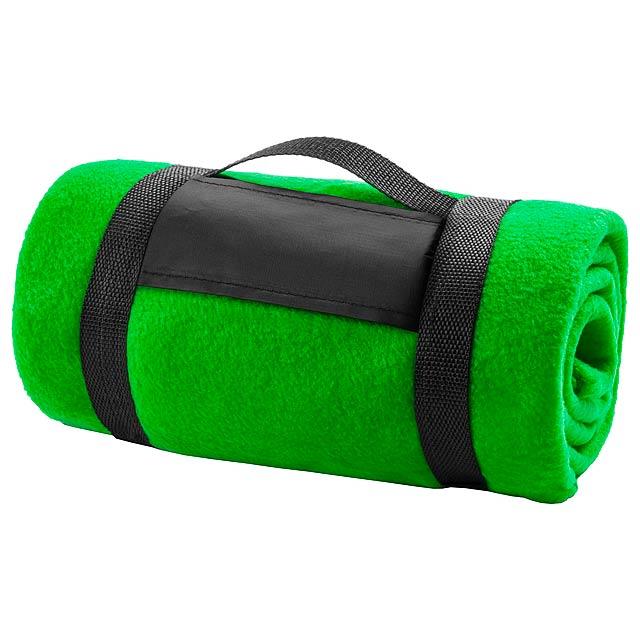 Mountain deka - zelená