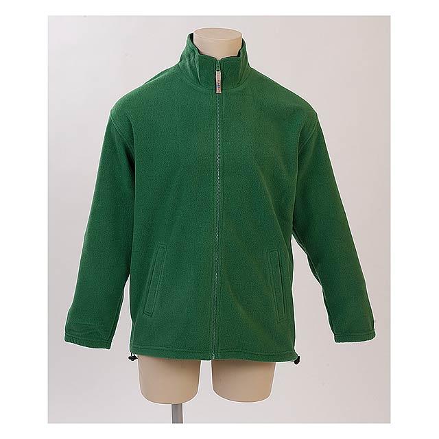 Siberia mikina fleece - zelená