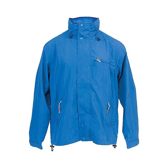 Canada bunda s kapucí - modrá