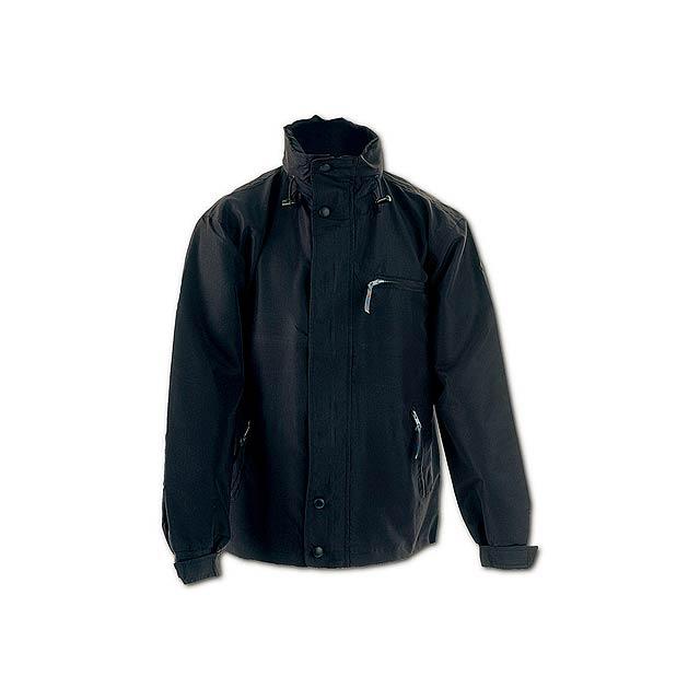 Canada bunda s kapucí - černá