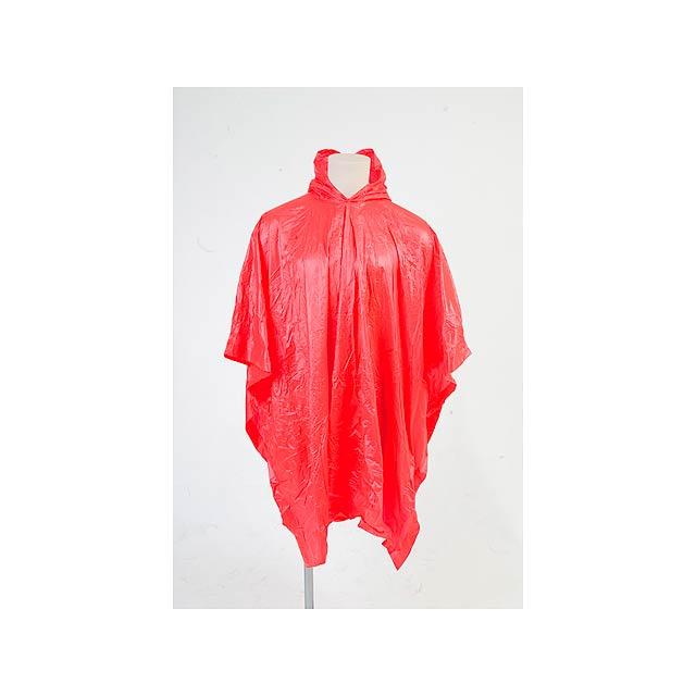 Montello pláštěnka - červená