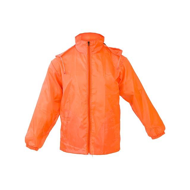 Grid pláštěnka/větrovka - oranžová