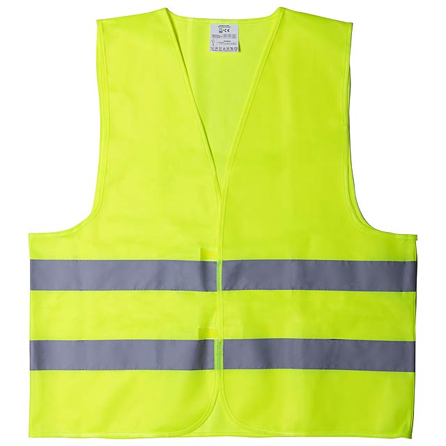 Kross reflexní vesta - žlutá
